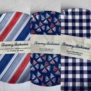 Bundle of Tommy Bahama Melamine Plates